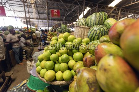 fresh produce market kigali rwanda africa