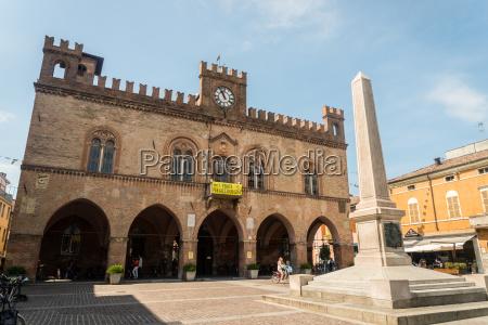 town hall fidenza emilia romagna italy
