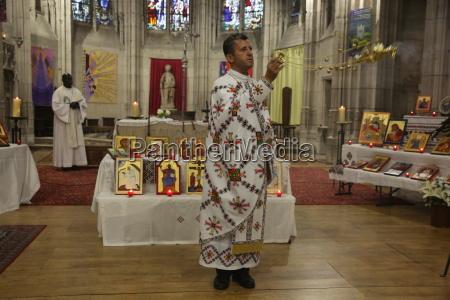 mass celebrated by melkite greek catholic