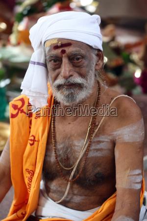 padre hindu brahmintemplo hindu de sri