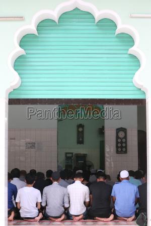 muslims praying masjid musulman saigon central
