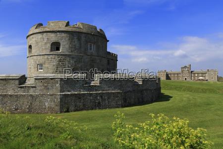 henry viiis fort in pendennis castle