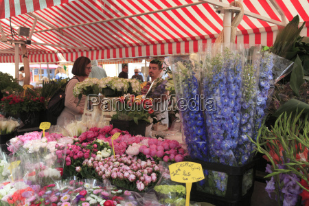 flower market cours saleya old town