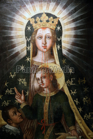 madonna del sangue our lady of