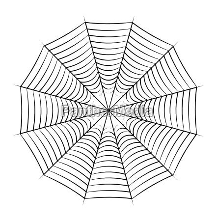 spider web vector symbol icon design