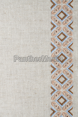 craft embroidery design of ethnic pattern