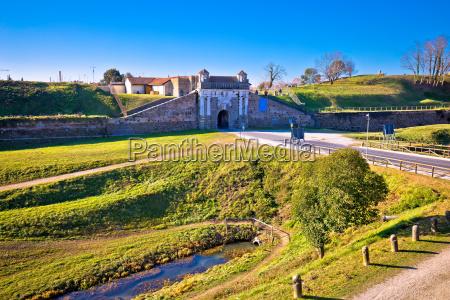 town of palmanova defense walls and
