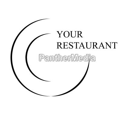 restaurant logo vector symbol icon design