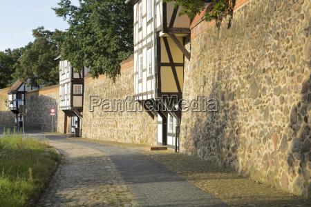wiek house in the city wall