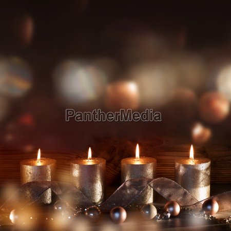 four candles in the advent season