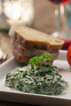 spinach yoghurt appetizer from lebanon