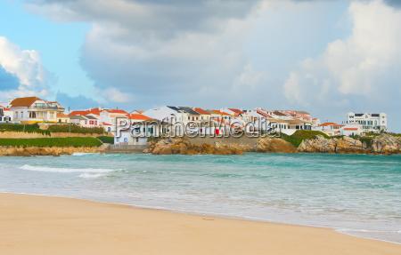 portugese coastal town baleal