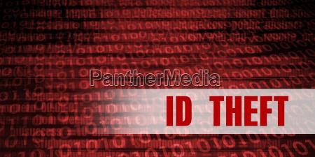 id theft security warning