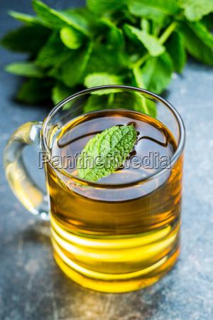 tasty mint tea