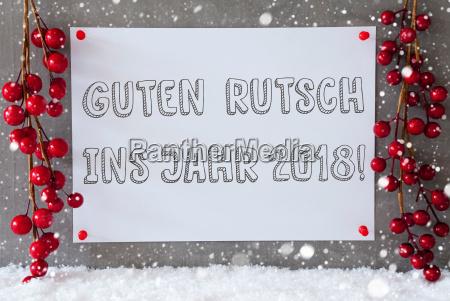 label snowflakes christmas decoration guten rutsch
