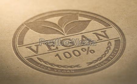 vegan product certified