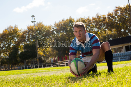 man getting ready to kick for
