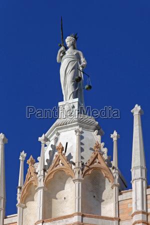 lady justice venice