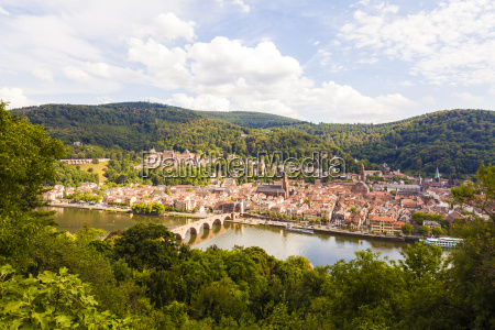 germany heidelberg view to the old