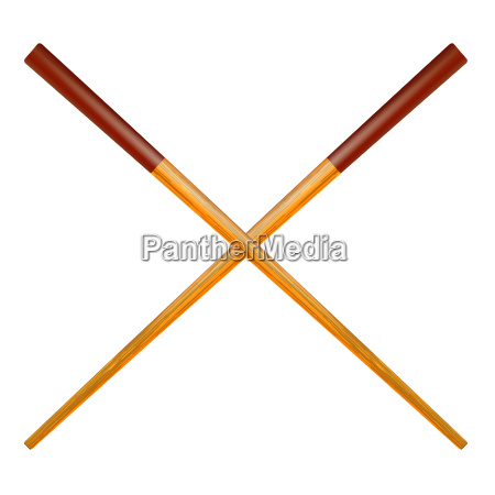traditional colored asian chopsticks