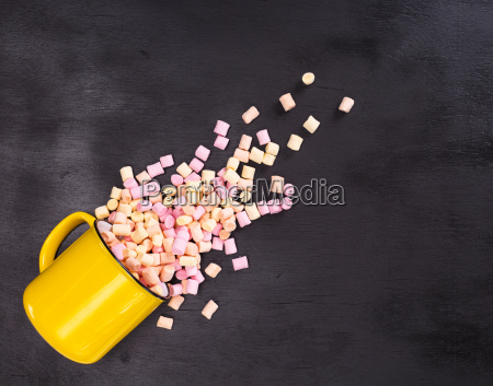 marshmallow background colorful candy pastel food