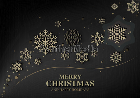 abstract modern christmas greeting