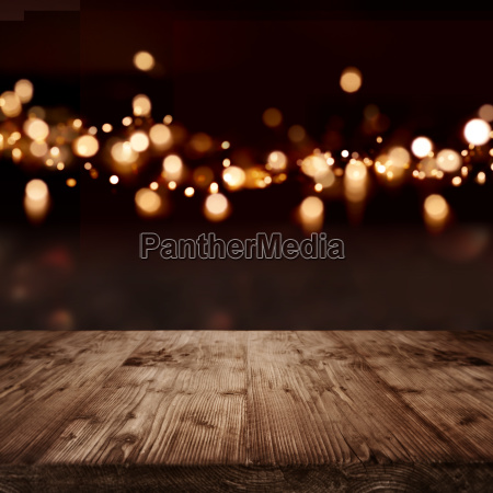 festive background with light effects for