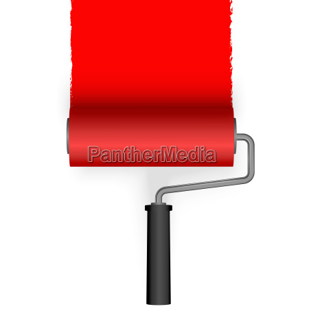 paint roller with marking