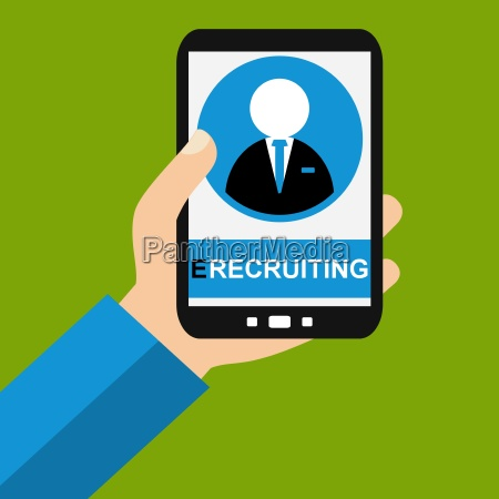 e recruiting with your smartphone