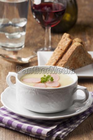 potato soup with