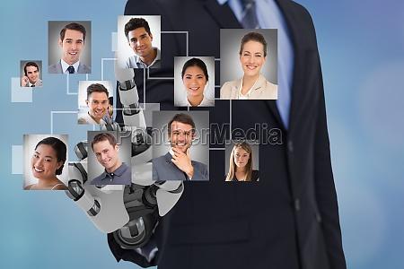 digital composite image of hrs robot