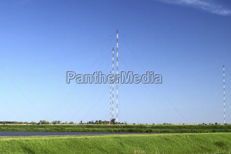 aerial platforms for transmission of