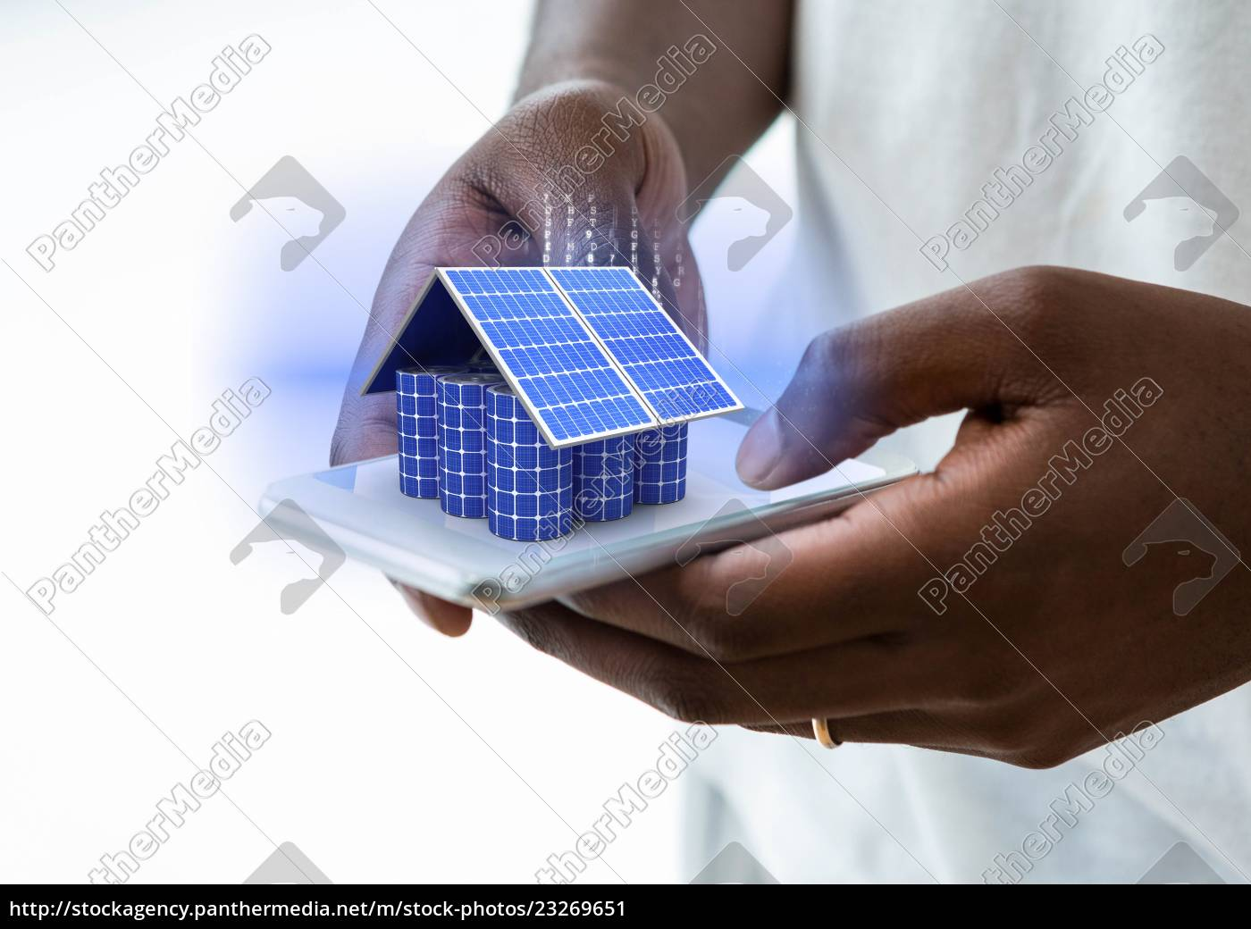 battery, house, on, mobile, - 23269651