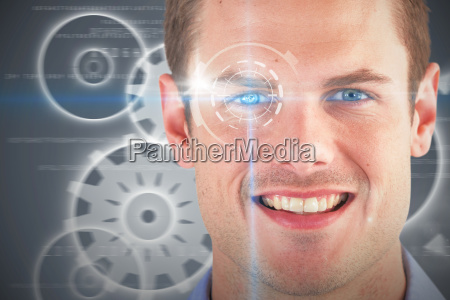 composite 3d image of close up