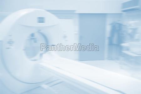 mri scanner in room