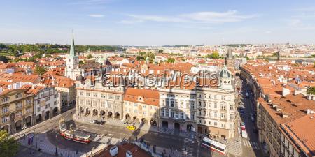 czech republic prague mala strana cityscape