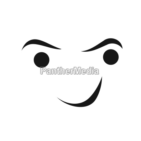 face smile logo person