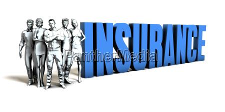 insurance business concept