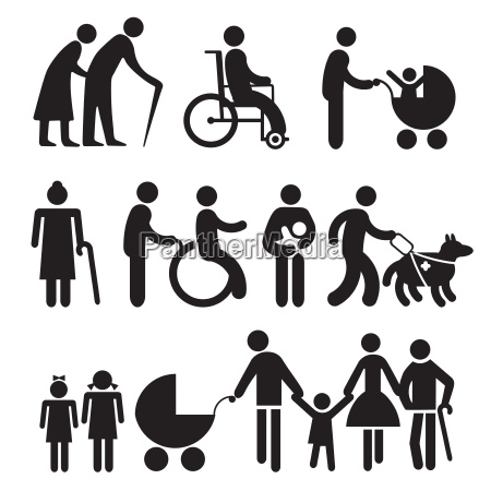 disabled people and seniors