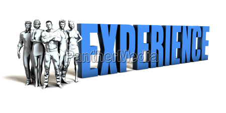 experience business concept
