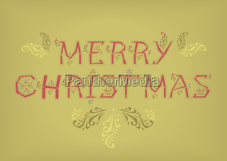 merry christmas country font