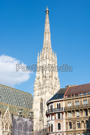 gothic st stephens cathedral in vienna