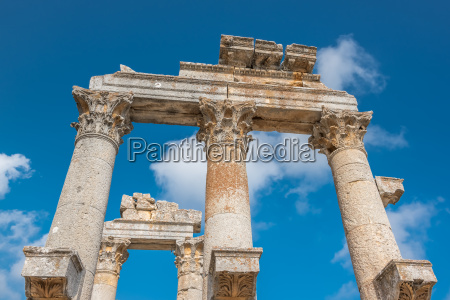 marble ceremonial gate columns entrance of