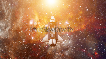 space shuttle spaceship in universe elements