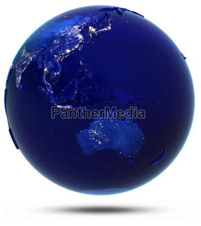 australia south east asia and oceania