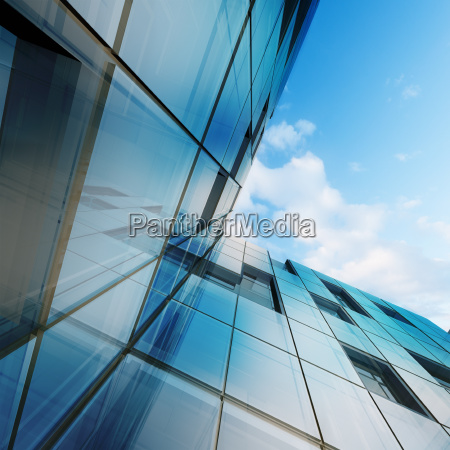 abstract architecture 3d rendering scene