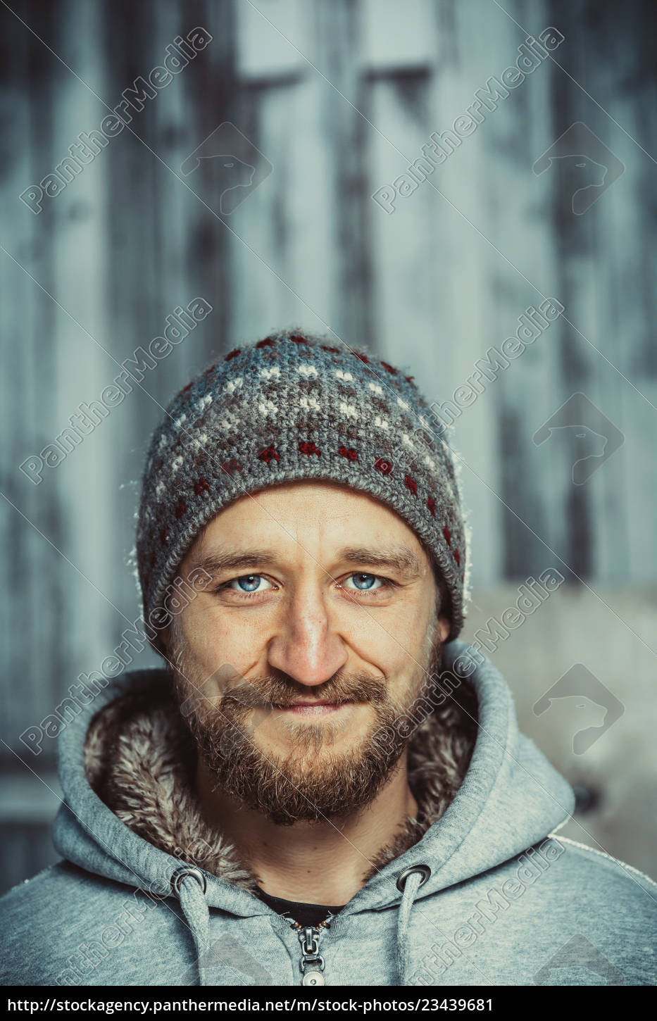 portrait, of, a, young, bearded, man - 23439681
