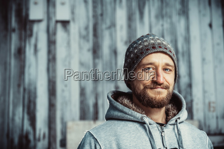portrait, of, a, young, bearded, man - 23439805