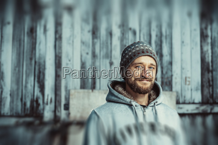 portrait, of, a, young, bearded, man - 23439809