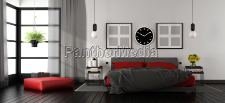 modern, master, bedroom - 23441255
